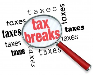 How to Find Tax Breaks - Magnifying Glass