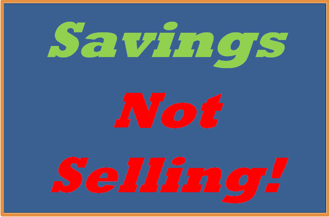 Offering Savings Means Less Selling for Agents