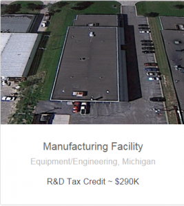 Manufacturer tax credits and savings with GMG